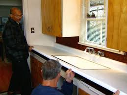 Kitchen Countertops Laminate Laminate Countertop Replacement And Sink Installation Video Hgtv