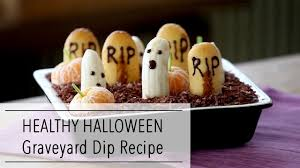 graveyard halloween cake healthy halloween dessert dip edible graveyard vegan reduced