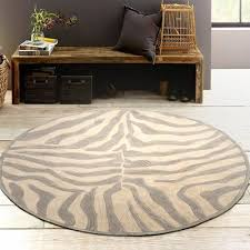 Zebra Area Rugs Lr Resources Fashion Taupe Sliver Zebra Area Rug Wayfair