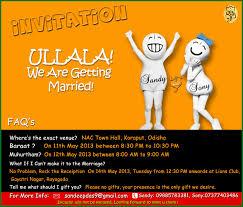 Invitation Cards Chennai 15 Unique Wedding Invitations Metro Weddings India
