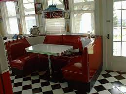 1950s Kitchen Furniture Retro Diner Booths Half Circle Booths Restaurant Diner Retro