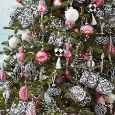 Christmas Ornaments Without Tree by Pink Black U0026 White Christmas Ornaments Wilshire Decor Kit Without
