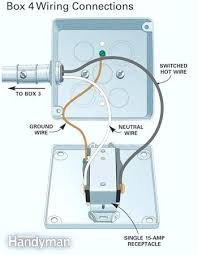 electrical wiring installation standard lamp and fan wiring