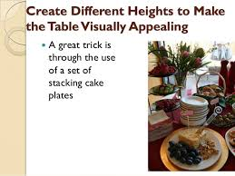 how to make a buffet table how to set up an buffet table