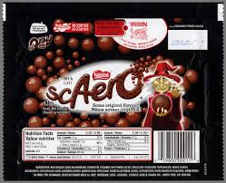 full size candy bars halloween cc canada u2013 nestle u2013 scaero u2013 aero u2013 halloween candy bar wrapper