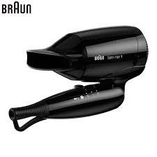 Hair Dryer Braun braun hd130 foldable electric hair dryer professional hairdryer fast