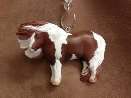 original sculpture resin pinto pony mini horse christmas ornament