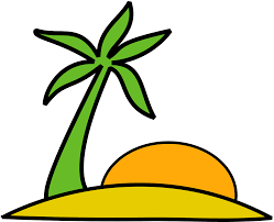 Beach Transparent by Beach Island Palm Sun Vacation Png Image Pictures Picpng