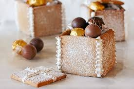 Decoration Taste Gingerbread Boxes