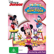 minnie s bowtique mickey mouse clubhouse minnie s bow tique dvd jb hi fi