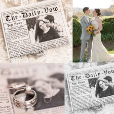newspaper wedding programs 34 best mini newspaper wedding program images on