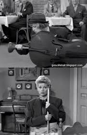a blog about lucille ball stopping at childhood