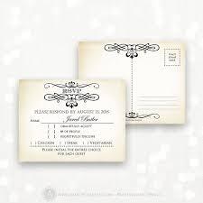 wedding reply cards printable rsvp card editable instant digital diy vintage