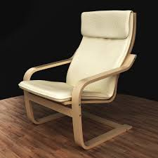Leather Poang Chair Furniture Exciting Decorative Poang Chair With Decorative Cushion