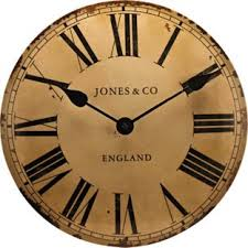 buy jones by newgate classic curved convex wall clock at argos co
