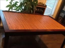 Pier  Imports Solid Wood Bamboo Glass Top Dining Table  OBO - Glass top dining table ottawa