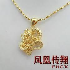 man necklace store images Men 39 s favorite overbearing dragon pendant gold plated pendant jpg
