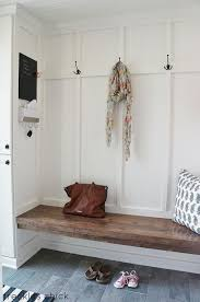 Real Simple Split Top Bench Storage Unit Instructions by 30 Organized Inspiring Small Mud Rooms U0026 Entry Areas The Happy
