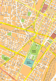City Map Of Torino Turin by Digital City Map Turin 496 The World Of Maps Com