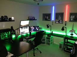 Home Game Room Decor How To Make A Cheap Gaming Setup Budget Pc Build Battlestations