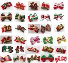 christmas bows for sale popular christmas dog hair bows buy cheap christmas dog hair bows