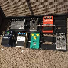 Homemade Pedal Board Design by Gear Show Us Your Rig Guitar