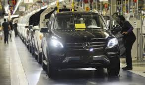 mercedes to end 2012 with record high output at alabama plant