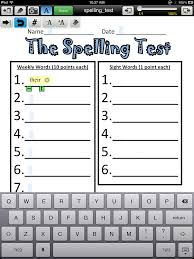 adapting worksheets for students with poor handwriting using your