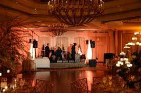 universal light and sound intelligent lighting for wedding at temple judea of manhasset