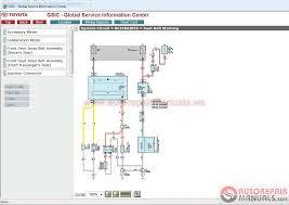 Toyota Gsic Repair Manual Wiring Diagram Body Repair And Etc