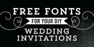 wedding invitation fonts ornamental font affordable