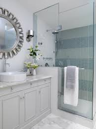 Small Shower Ideas For Small Bathroom 15 Simply Chic Bathroom Tile Design Ideas Hgtv