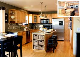 Best Color For Kitchen With Oak Cabinets Bathroom Captivating Paint Colors For Kitchens Oak Cabinets