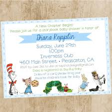 themes free book themed baby shower invitations also book themed