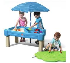sand and water table with lid buy step2 cascading cove sand and water table sandpits and play
