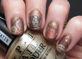 the lacquer legion reinvention steam punk nail art adventures