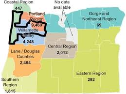 map oregon 5th congressional district who is covered 95percentoregon