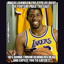 Magic Johnson Meme - magic johnson nba memes johnson best of the funny meme