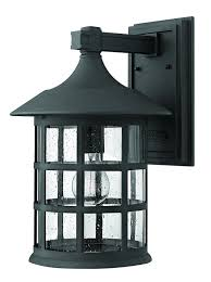 hinkley lighting 1805oz freeport 1 light outdoor light oil rubbed