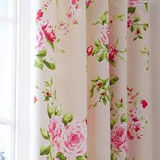 Floral Curtains Shabby Chic Pink And Floral Curtains The Shabby Chic Guru