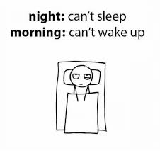 Can T Sleep Meme - night can t sleep morning can t wake up funny meme on esmemes com