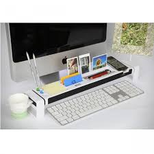 Desk Top Organizer by Desktop Organizer For Apple Imac With Built In Usb Hub And Memory