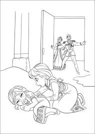 kids fun 35 coloring pages frozen