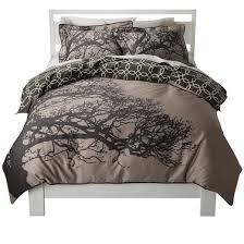 tree silhouette reversible duvet cover set target