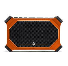 ecoxgear ecoslate is a rugged bluetooth speaker with integrated