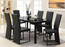 Best  Black Glass Dining Table Ideas On Pinterest Glass Top - Black kitchen tables