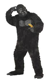black suit halloween amazon com california costumes men u0027s gorilla black