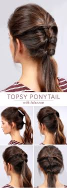 ponytail hairstyles for 22 great ponytail hairstyles for girls pretty designs