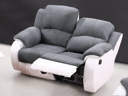 canap relax 2 places canapé et fauteuil relax en microfibre 3 coloris bilston