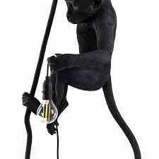 Common Ceiling Lamp Monkey Lamp Black Pendant Lamp Seletti